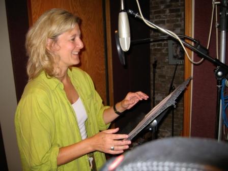 Melinda Kordich at the mic